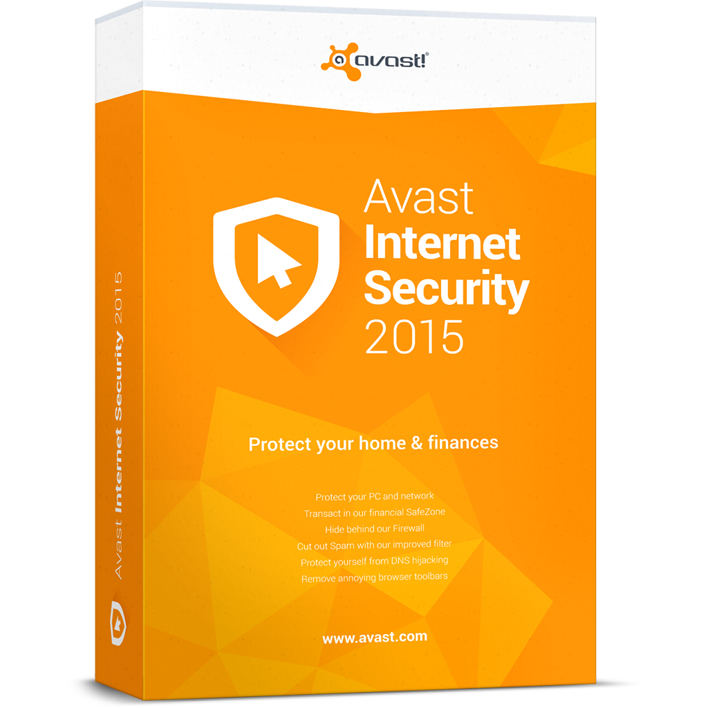 avast internet security 2015 boxshot - Avast İnternet Security 2015 1 Yıllık
